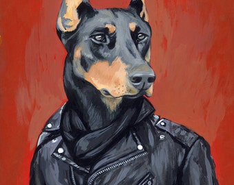 SVEN - Matte Print - From Painting by Heather Mattoon