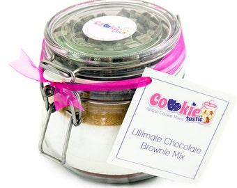 Ultimate Chocolate Brownie Mix Jar