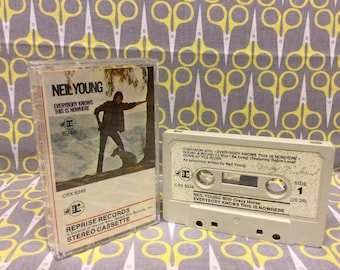 Everybody Knows This is Nowhere by Neil Young Crazy Horse Cassette Tape rock