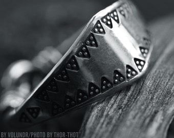 viking silver ring from Island