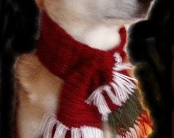 Grandes écharpes de Noël pour 21-25 pouces de tour de cou de votre chien