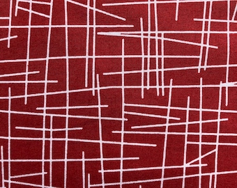 Pick up Sticks by Kim Schaefer for Andover Fabrics Red R2