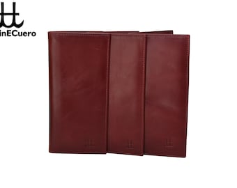 ALBERTO check book wallet from genuinECuero.com
