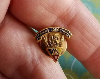 Vintage Criers Lodge 651 Knights of Pythias tack