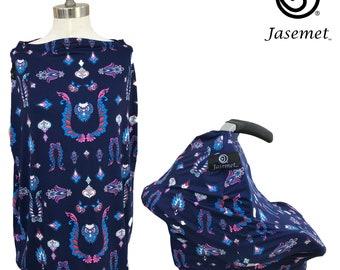 Nursing Cover Scarf, Breastfeeding Scarf, Nursing Poncho, Nursing Scarf, Breastfeeding Cover, Jasemet Cover, Majesty