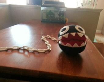Chain Chomp inspired plushie...