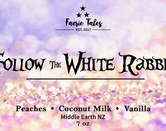 Follow the White Rabbit 4oz Soy Candle