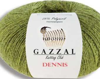 Gazzal Dennis 50 g 500 m Merino Wool