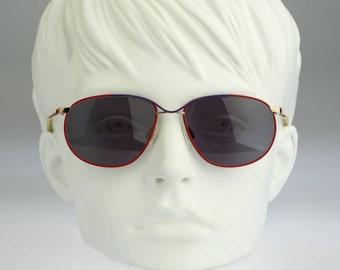 Puma MP 6 792, Vintage aviator sunglasses, 80s mens & women rare and unique / NOS