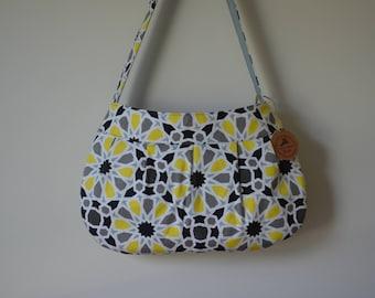 Geo Floral Large Buttercup Bag