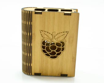 Bamboo'k Case for Raspberry Pi 3B+, 3  B+ and 2B ~ by C4Labs