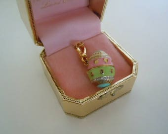 Easter Egg Charm Juicy Couture Limited Edition Scottie Dog Jewelry Supply