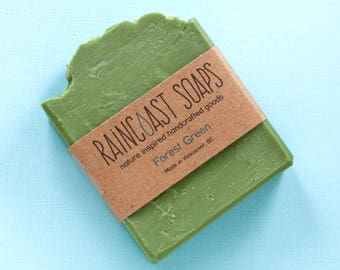 Pine Cedarwood Soap / eco friendly sensitive skin green soap bar / gifts for outdoors man / gift for outdoors lovers / mother's day gifts