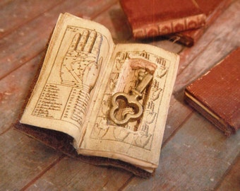 Miniature Book with Secret Compartment