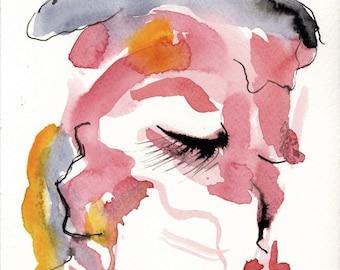 wall art print, poster art print, reproduction, watercolor painting, watercolor print