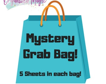 Mystery Grab Bag 5 sheets