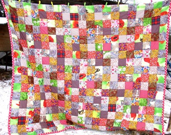 Patchwork Quilt--King Size