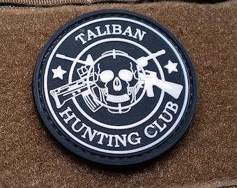 Taliban Hunting Club PVC Morale Patch