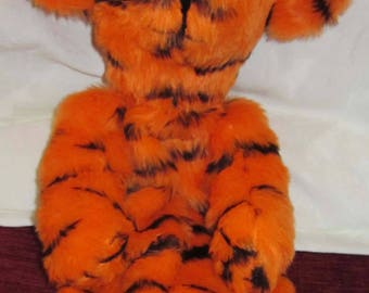 Tiger Arm Puppet Toy Kids Activity Toy Made to Measure Boy or Girl Toddler Toy Tiger Toy for Toddlers Teacher Aid Teaching Toy Adoption Gift