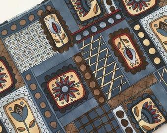 Folklorica by Kim Schaefer, Erlanger Group, Pattern #2430 110cm x 112cm
