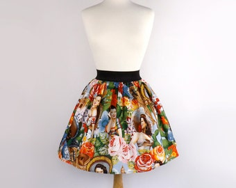 Aline Skirt / Mexican Senoritas Skirt
