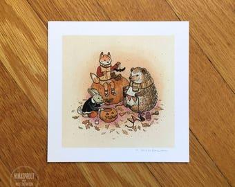 Festive Fall - Mini Fine Art Print