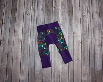 Miniloones Grow With Me Pants Dragonfly Baby Leggings