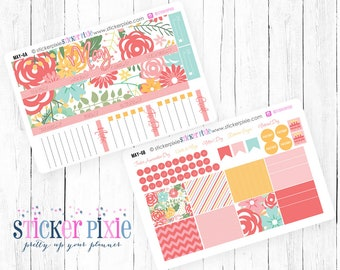 Monthly Overview Planner Stickers MAY for use with Erin Condren Monthly View | MAY-6
