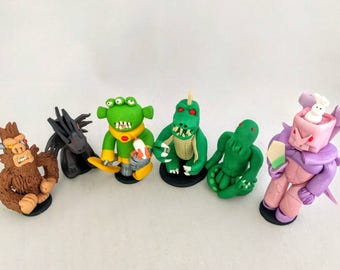 King of Tokyo Player Figurines, Player Tokens, Custom Pieces, Monster tokens, Board game pieces, Monster Meeples