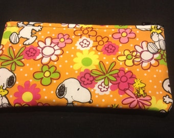 Peanut's Snoopy and Woodstock Coin Purse #155
