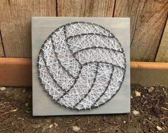 MADE TO ORDER- Volleyball String Art