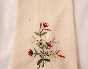 Sweet Towel (Red Floral)