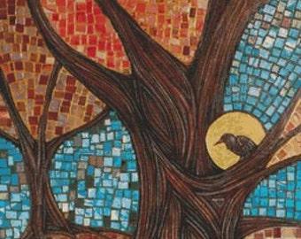 Modern Cross Stitch Kit 'Autumn' By Lynnette Shelley