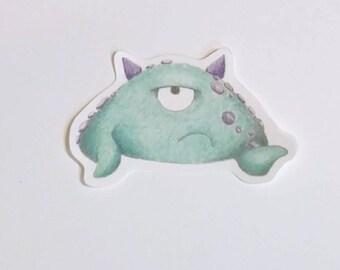 Timid Monster Sticker - Vinson