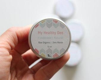 Deodorant |SALE NOW - 4,99 Euro  Organic Vegan Zero Waste
