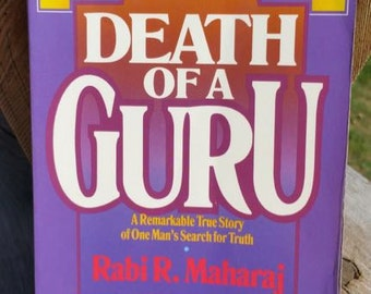 Death Of A Guru by Rabi R. Maharaj Vintage Paperback Book
