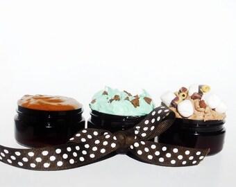 2oz. Trio Whipped Shea Butter & Chocolate Mask Set