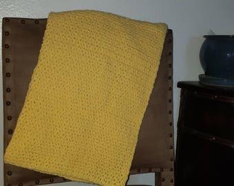 Sunshine Crochet Baby Blanket
