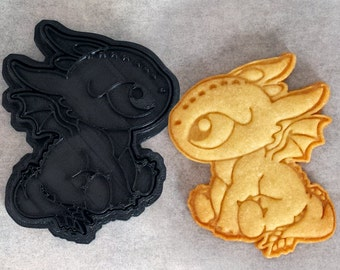 Baby Dragon Cookie Cutter
