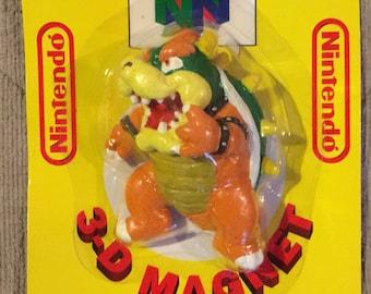 Nintendo N64 3D Bowser Magnet