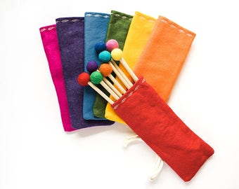 Felt Quiver for Bow and Arrows Set