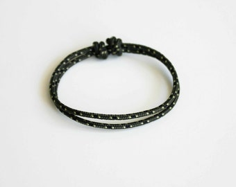 Simple Rope Bracelet - Dark Green