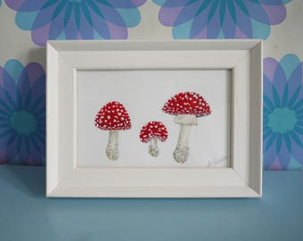 Fly Agaric Painting