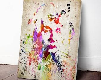 Albert Einstein Canvas Print, Albert Einstein Art Print, Albert Einstein Decor, Home Decor, Gift Idea