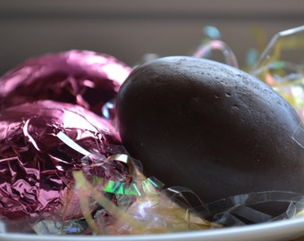 Easter Egg Soap - Chocolate Egg Marshmallow Soap - Chocolate Soap - Egg Soap - Novelty - Easter - Fun Food - Marshmallow Egg - Candy Soap