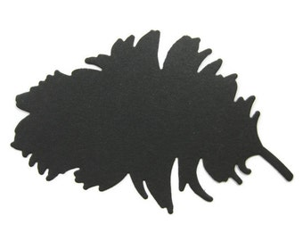 Extra Large Paper Feather Die Cut Set of 6