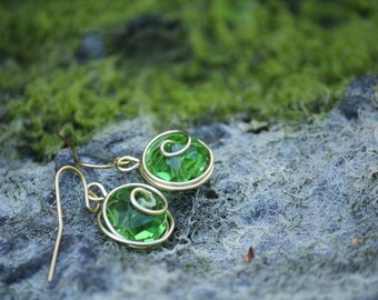 The L.O.Z.® Kokiri's Emerald Earrings