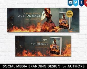Social media branding design - Facebook and Twitter Banner, Instagram design