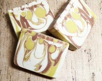 Iced Tea Twist Type Soap, Handmade Soap, Cold Process Soap, Bar Soap, Artisan Soap