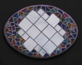 Mosaic  Trivet for Bedroom or kitchen Handmade TR112